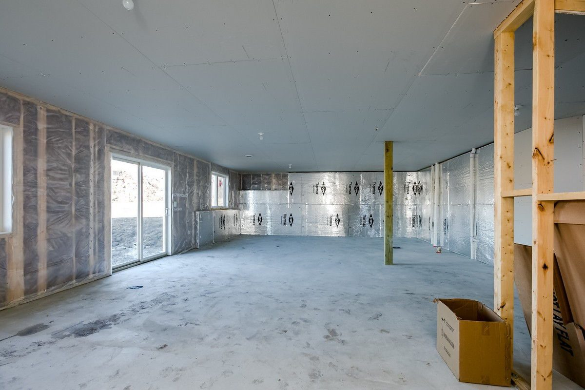 Unfinished Basement & Walkout