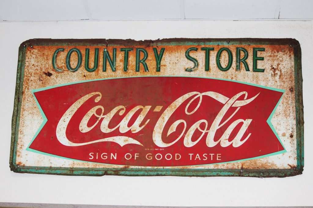 country old sign
