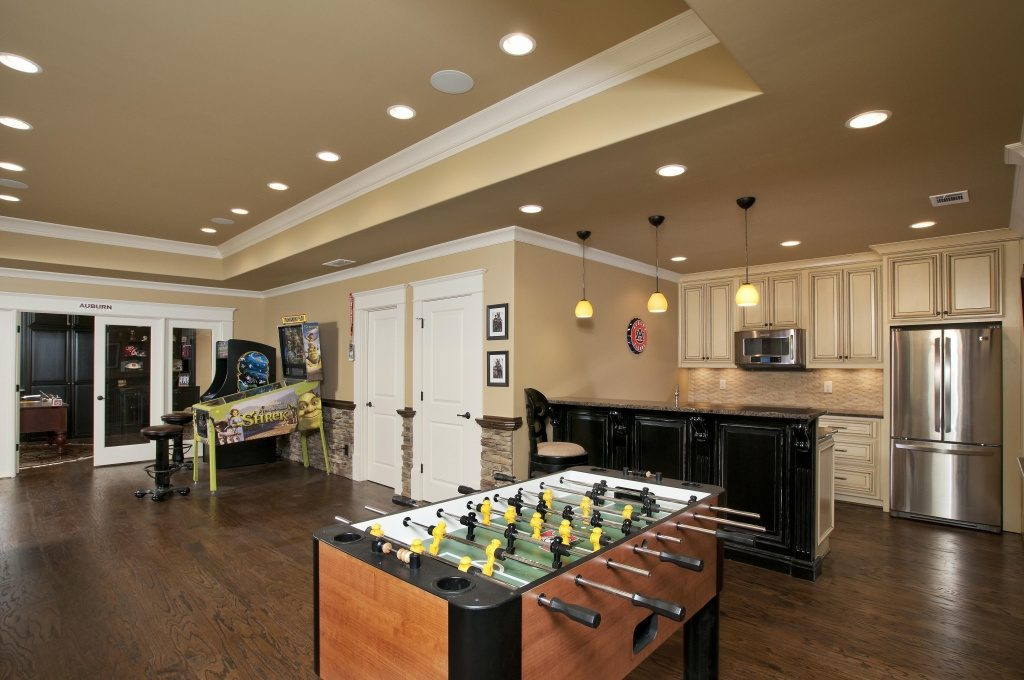 game room, man cave