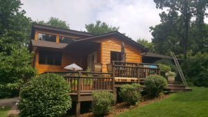 Burnsville siding and deck project