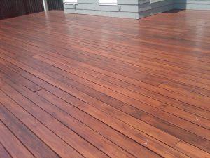 deck sealed