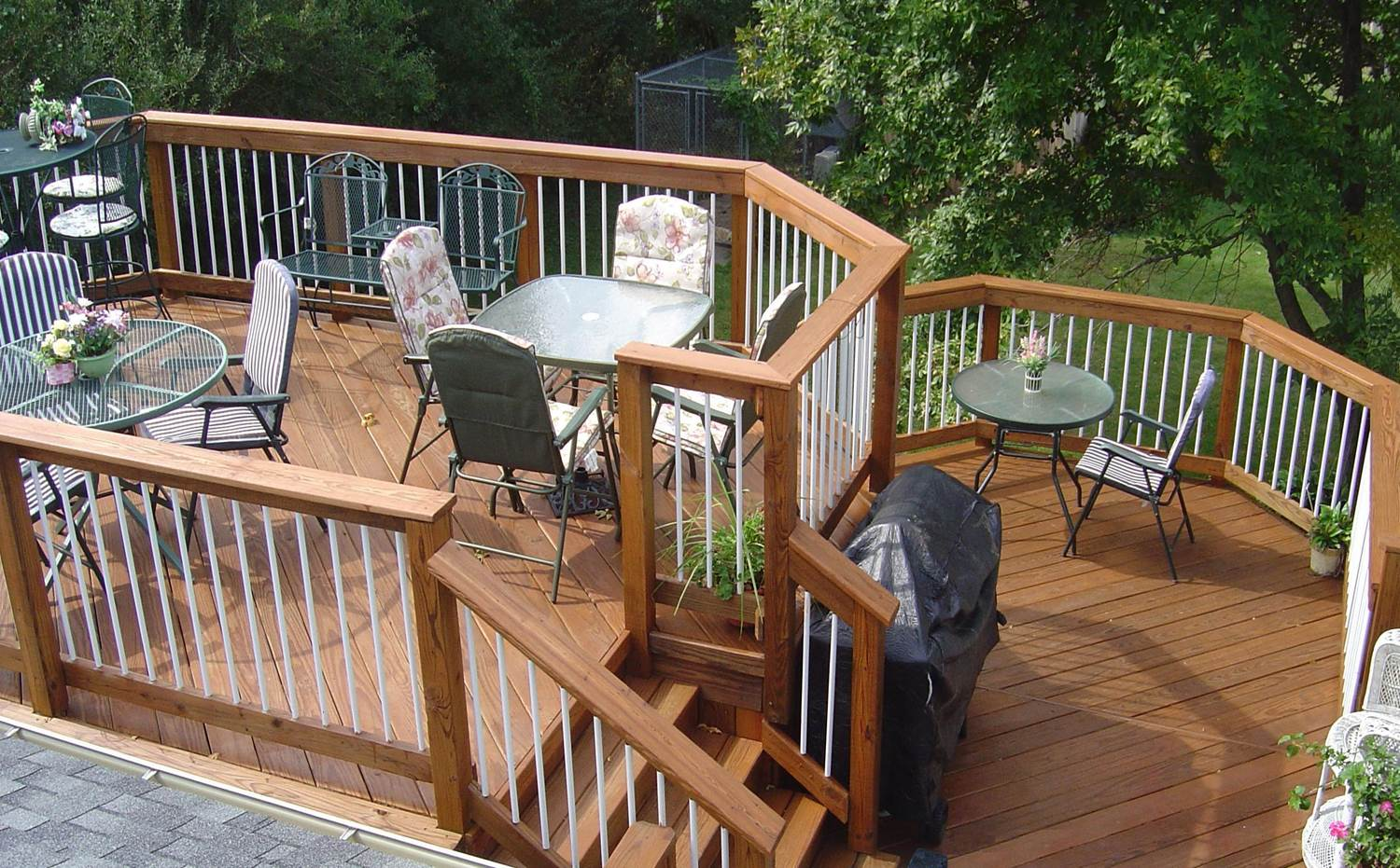 stained-wood-deck