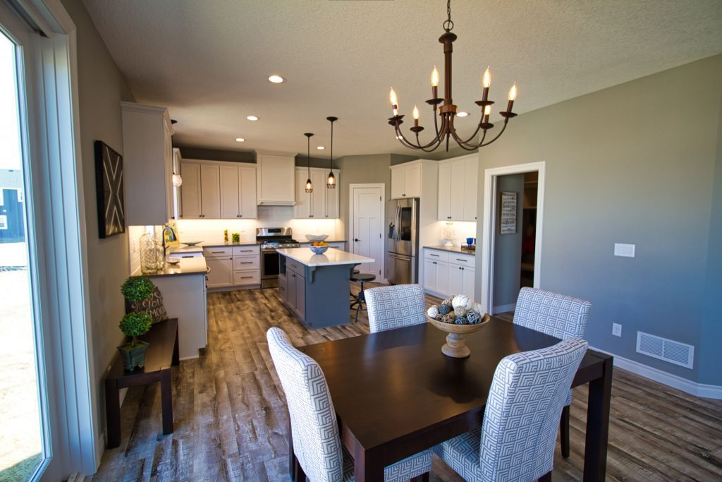 luxury kitchen in a luxury custom home built by custom home company xpand inc