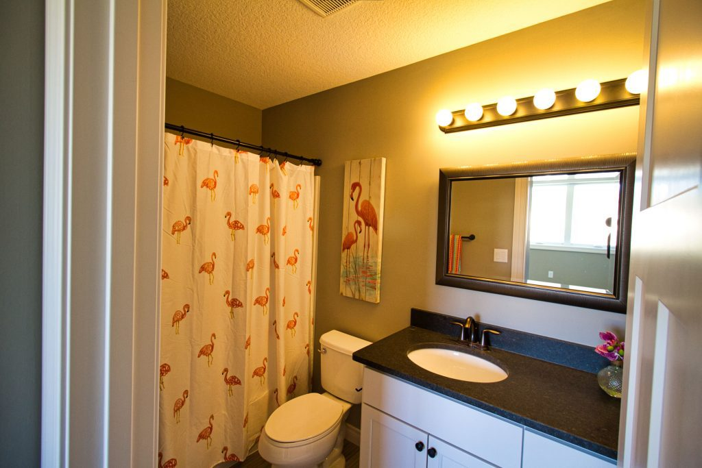 Flamingo Bathroom